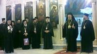В Дамаске состоялась встреча Архиепископа Новой Юстинианы и всего Кипра Хризостома II с представителем Русской Православной Церкви при Антиохийском Патриархе
