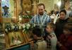 Патриаршее служение в канун праздника Благовещения Пресвятой Богородицы