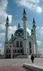 Патиарший визит в Казань. Встреча в аэропорту и посещение Казанского Кремля. Встреча с Президентом Татарстана М. Шаймиевым (20 июля).