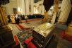 Патриарший визит в Санкт-Петербургскую епархию. День пятый. Панихида на могиле митрополита Никодима (Ротова).