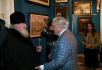 Посещение Святейшим Патриархом Алексием художественной галереи Ильи Глазунова