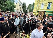 Святейший Патриарх Кирилл посетил город Ровно и встретился с паствой