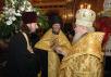 Великая вечерня в храме Христа Спасителя в день праздника Рождества Христова