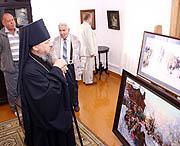 Управляющий Красноярской епархией посетил музей-усадьбу В.И. Сурикова