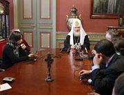 Состоялась традиционная предпасхальная встреча Предстоятеля Русской Православной Церкви с журналистами