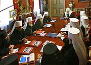 ЖУРНАЛЫ заседания Священного Синода Русской Православной Церкви от 21 августа 2007 года