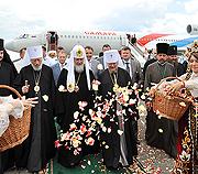 С 27 июля по 5 августа состоялся визит Святейшего Патриарха Кирилла на Украину