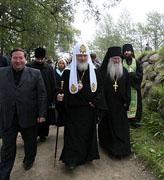 Святейший Патриарх Кирилл высказался за придание Соловецкому архипелагу особого статуса