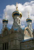 В городе Карловы Вары отметили 110-летие освящения русского храма во имя святых апостолов Петра и Павла