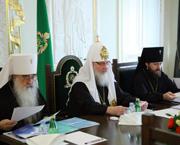 Святейший Патриарх Кирилл возглавил пленарное заседание Синодальной богословской комиссии