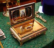 Патриаршее послание по случаю принесения ковчега с частью мощей преподобного Серафима Саровского в Элладскую Православную Церковь