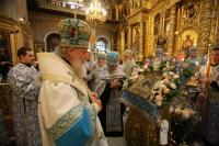 Святейший Патриарх Московский и всея Руси Кирилл совершил всенощное бдение накануне дня празднования Казанской иконы Божией Матери