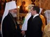 Молебен по случаю вступления в должность Президента России Дмитрия Медведева