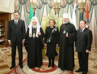 Предстоятель Русской Православной Церкви возглавил церемонию вручения премий имени Святейшего Патриарха Алексия II