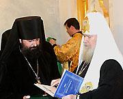 Святейший Патриарх Алексий совершил наречение архимандрита Елисея (Ганабы) во епископа Богородского, викария Корсунской епархии