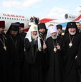 Завершился визит Святейшего Патриарха Кирилла на Украину