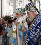 Патриаршее слово после богослужения в Свято-Успенской Почаевской лавре