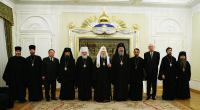 Святейший Патриарх Алексий принял делегацию Грузинской Православной Церкви