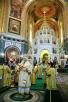 Патриаршее служение в Неделю сыропустную в Храме Христа Спасителя
