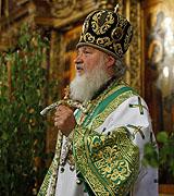 Патриаршая проповедь в Успенском соборе Троице-Сергиевой лавры в праздник Пятидесятницы