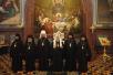 Божественная литургия и хиротония архимандрита Маркелла во епископа Бельцкого и Фэлештского в храме Христа Спасителя