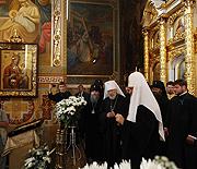 Слово Святейшего Патриарха Московского и всея Руси Кирилла в Зимненском Святогорском Успенском монастыре