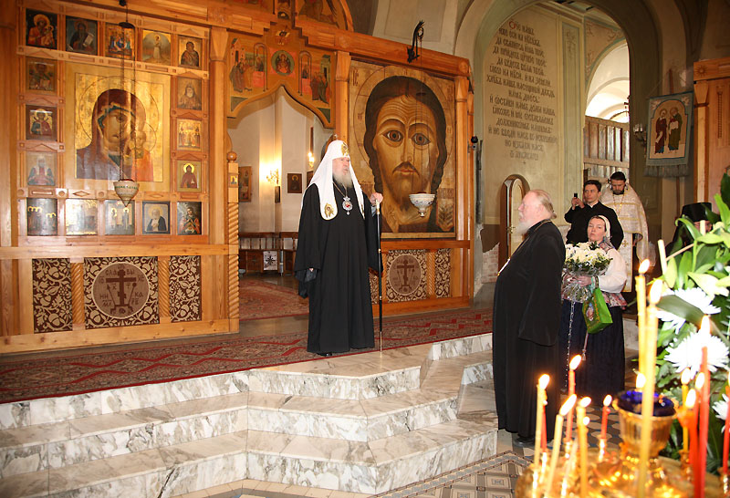Посещение московских храмов в Великую Субботу (26 апреля 2008 г.)