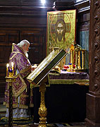 Патриаршее слово за Божественной литургией в Великий Четверг
