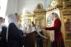 Патриарший визит в Санкт-Петербург. Торжественный акт, посвященный 60-летию возрождения Санкт-Петербургских духовных школ.